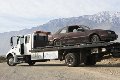 Emergency Flatbed Towing